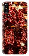 New Mexico Red Chili Ristra And Gralic IPhone Case