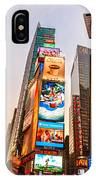 New York City - Times Square IPhone Case