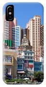 New York New York Casino IPhone Case