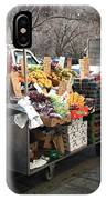 New York Street Vendor IPhone Case