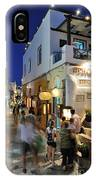 Oia Town During Dusk Time IPhone Case