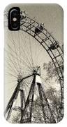 Old Ferris Wheel IPhone Case