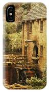 Old Mill In Arkansas IPhone Case