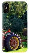 Old Tractor  IPhone Case