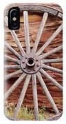 Old Wagon Wheel 2 IPhone Case