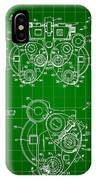Optical Refractor Patent 1985 - Green IPhone Case
