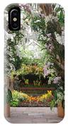 Orchid Display IPhone Case