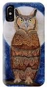 Paisley Moon IPhone Case