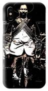 Pancho Villa With Cross Thatched Bandolier Rebel Camp No Locale Or Date-2013 IPhone Case