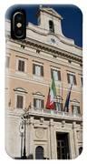 Parliament Building Rome IPhone Case