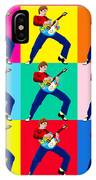 Paul Weller Wham IPhone Case