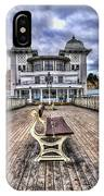 Penarth Pier Pavilion IPhone Case