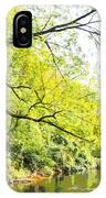Pennsylvania Autumn Pennypack Creek Philadelphia Pennsylvania IPhone Case