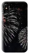 Pink Fireworks IPhone Case