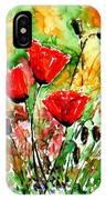 Poppy Lawn IPhone Case