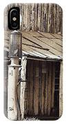 Post Office-gas Station Ghost Town Wagoner Arizona 1968 IPhone Case