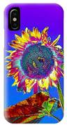 Psychedelic Sunflower IPhone Case