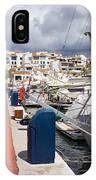 Puerto Banus Marina IPhone Case