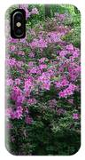 Purple Azaleas IPhone Case