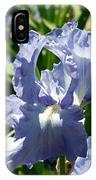 Purple Bearded Iris IPhone Case