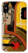 Queen Of Hearts Of Egypt IPhone Case