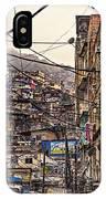 Rio De Janeiro Brazil - Favela IPhone Case