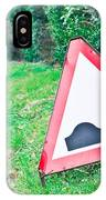 Road Sign IPhone Case