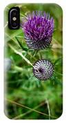Roadside Flowers IPhone Case
