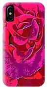 Rose 18 IPhone Case