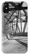 Route 66 - Chain Of Rocks Bridge IPhone Case