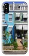 Row Houses In Washington D.c. IPhone Case