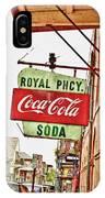 Royal Pharmacy Soda Sign IPhone Case