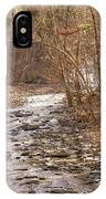 Running Water IPhone Case