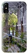 Rustic Country Front Porch IPhone Case