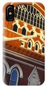 Ryman Auditorium IPhone Case