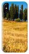 San Quirico D'orcia IPhone Case