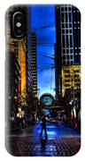 Seattle Streets IPhone Case