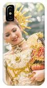 Sinulog Festival In Cebu Of Philippines IPhone Case
