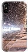 Snow Rush  IPhone Case