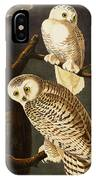 Snowy Owl IPhone Case by Celestial Images