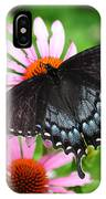 Spicebush Swallowtail Butterfly IPhone Case