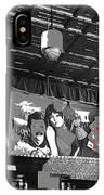 Spirit Room Bar Connor Hotel Jerome Arizona 1971-2013 IPhone Case