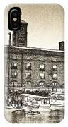 St Katherine's Dock London Sketch IPhone Case