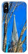 St. Marys Church Steeple Of St Marys Church IPhone Case