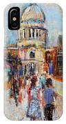 St Paul's From The Millennium Bridge IPhone Case
