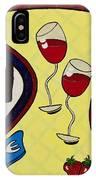 Strawberry Wine IPhone Case
