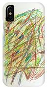 Subconscious Thought No. 1 IPhone Case
