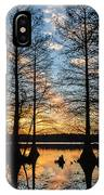 Sunset At Stumpy IPhone Case