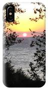 Sunset In Samothraki IPhone Case