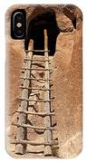 Talus House Front Door Bandelier National Monument IPhone Case
